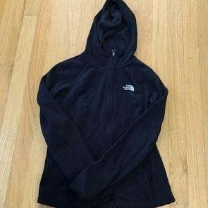 North Face women Black Masonic Fleece Full Zip XS